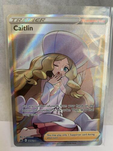 Caitlin Full Art 189/198 Chilling Reign Near Mint - Mint Pokemon Card