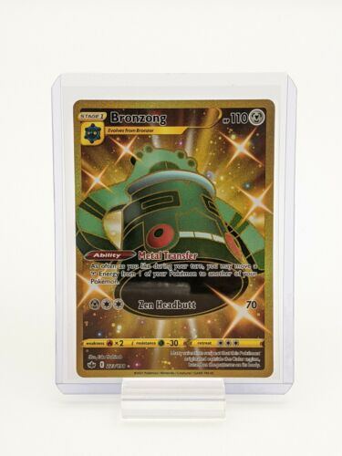 Bronzong 223/198 Chilling Reign Pokemon TCG Secret Rare NM