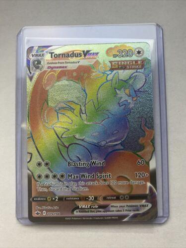Tornadus VMAX - Secret Rainbow Rare - 209/198 - Chilling Reign - MINT