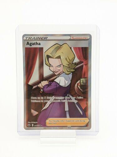 Agatha 186/198 Chilling Reign Pokemon TCG Ultra Rare NM