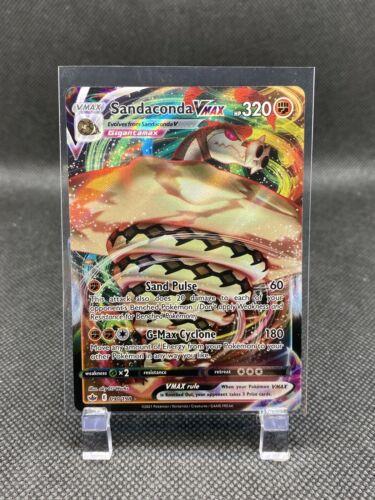 Pokémon SANDACONDA VMAX 090/198 Holo Ultra Rare Chilling Reign - Near Mint