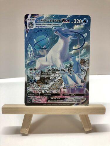 Ice Rider Calyrex Vmax - Ultra Rare - NM+/M - 203/198 - Chilling Reign