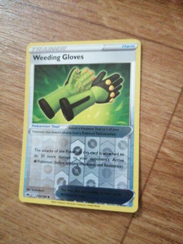 Pokemon - Weeding Gloves - 155/198 - Chilling Reign - Mint - Rev Holo
