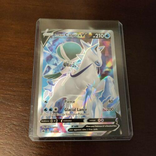 Ice Rider Calyrex V 163/198 Chilling Reign Pokemon TCG Ultra Rare
