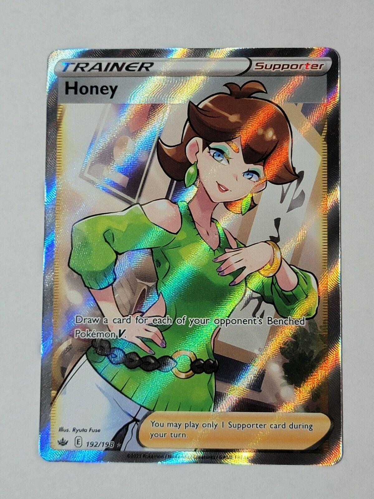 Pokemon TCG - Chilling Reign Trainer Honey 192/198 - Full Art