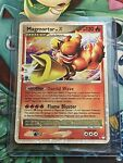 2007 Pokemon Card Magmortar LV. X 123/123 Mysterious Treasures Holo Rare