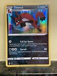 Thievul Pokemon Card - Shining Fates 048/072 - Rare Holo - Mint Condition