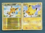 Reverse Holo Raichu 33/90 & Pikachu 61/90 Undaunted Pokemon Cards 2010- NM/LP