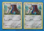 2x Honedge 105/163 Pokemon card Battle Styles common NM