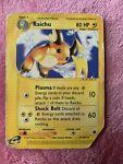 Miscut Pokémon TCG Raichu Expedition 61/165 Regular Rare