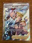 Pokemon Card : RAPID STRIKE STYLE MUSTARD 162/163 Battle Styles Holo Full Art