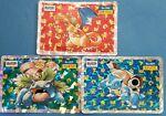 Pokemon cards Japanese Charizard Blastoise Venusaur Topsun 1995 Holo Rare Prism