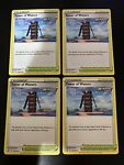 x4 Tower of Waters 138/163 Uncommon Battle Styles Pokemon Cards TCG Play Set