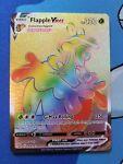Flapple Vmax Rainbow Secret Rare Pokémon Battle Styles 164/163 NM