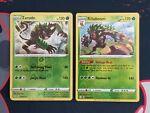 Pokemon Shining Fates 016/072 Zarude and 013/072 Rillaboom Reverse Holo Rare NM