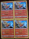 Pokémon TCG Zarude Shining Fates 016/072 Regular Rare