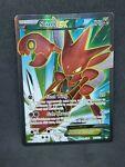 Pokemon TCG Scizor EX 119/122 Breakpoint Full Art Rare NM-MINT