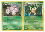 Pokemon Cards: Exeggutor 24/123 & Exeggcute 82/123 Mysterious Treasures Rare! PL