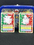 #36 Clefable #40 Wigglytuff: 1995 Topsun Green Back Pokemon Cards NM USA Shipper