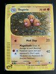 Dugtrio 10/165 HOLO Expedition Base Set Pokemon Card DAMAGED