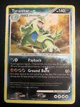Tyranitar 17/123 Mysterious Treasures Holo Rare Pokemon Card - Heavy Play