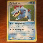Pokemon Card 2007 Feraligatr 8/123   Mysterious Treasures Set   Rare Holo NM