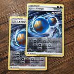 Pokémon TCG - x2 Rapid Strike Energy (Battle Styles 140/163) Reverse Holos - NM
