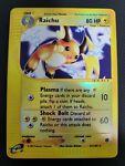 Pokemon WOTC Expedition Raichu 61/165 Rare Reverse Holo