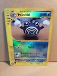 Pokemon Reverse Foil Card : Poliwhirl 89/165 (Expedition Base Set 2003)