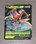 Kricketune V - 006/163 Battle Styles NM Full Art Ultra Rare Pokemon Card TCG