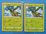 2x Tropius 005/072 Pokemon card Shining Fates uncommon NM