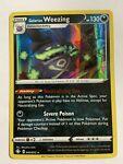 Galarian Weezing Pokemon Card - Shining Fates 042/072 - Holo Rare - Near Mint
