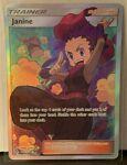 Pokemon Unbroken Bonds Janine Full Art Trainer Ultra Rare 210/214