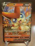Pokémon TCG Victini V Sword & Shield - Battle Styles 021/163 Holo Ultra Rare