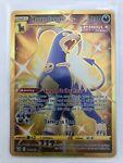 HOUNDOOM Secret Rare Full Art Gold Card 179/163 Battle Styles Pokemon TCG Shiny