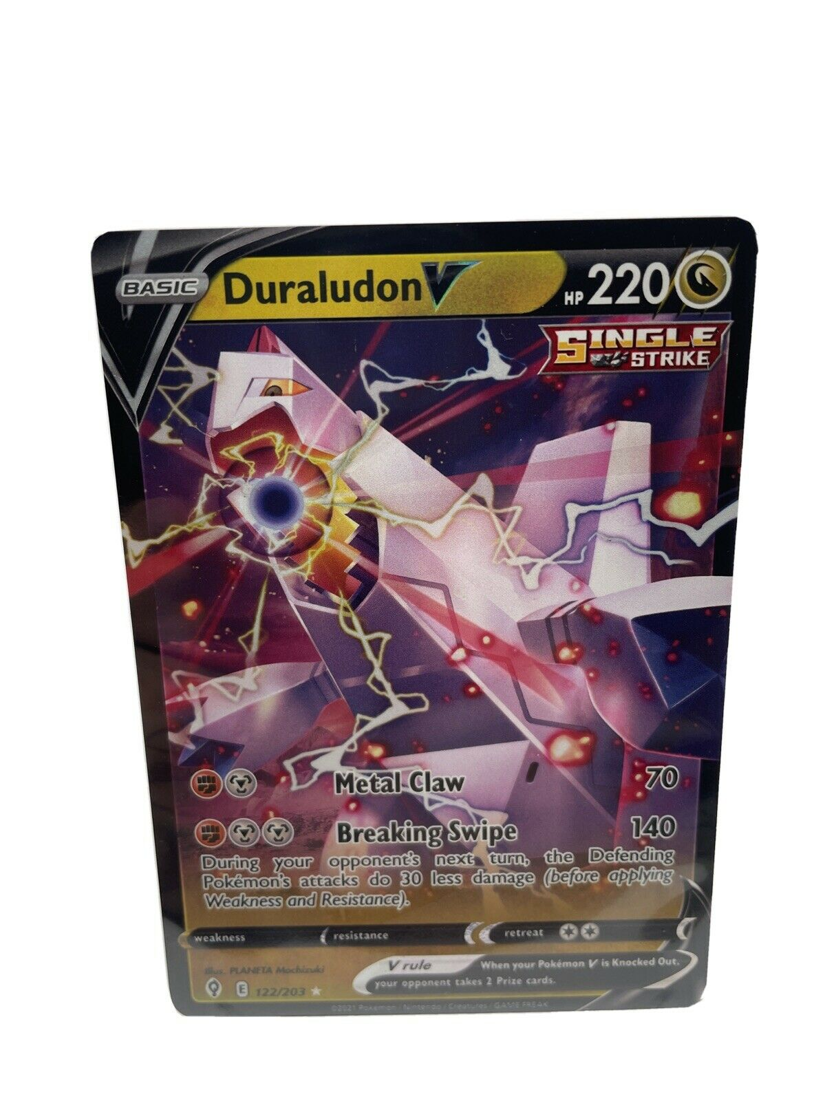 Pokemon - Duraludon V - Evolving Skies - 122/203 - Ultra Rare