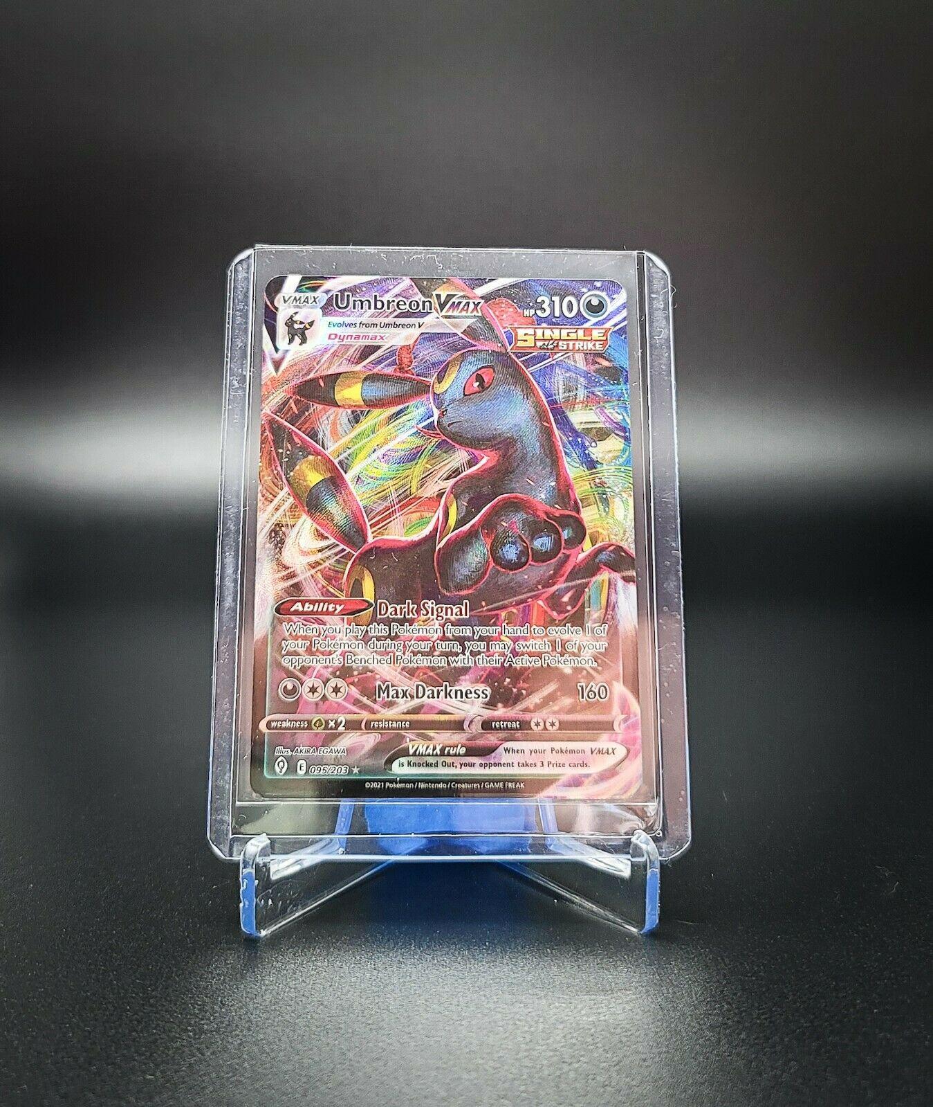 Pokemon Umbreon VMAX 095/203 -Evolving Skies Ultra Rare Full Art- NM-MINT-