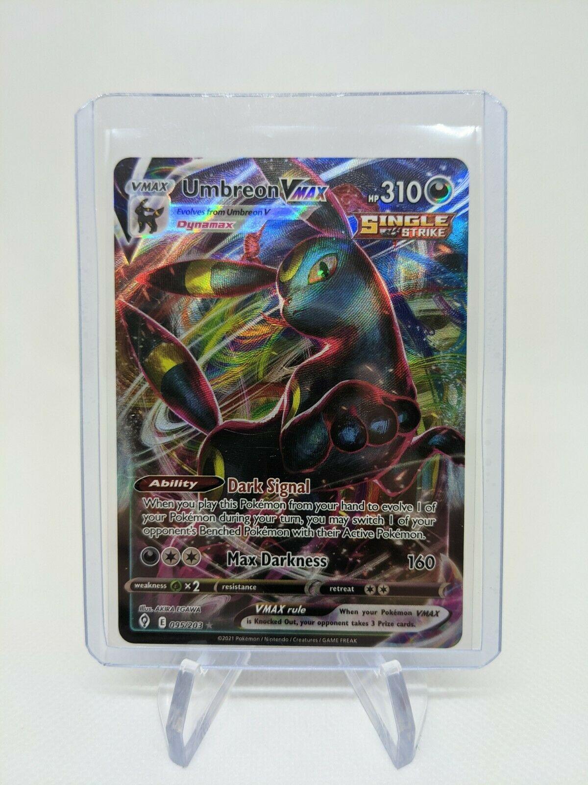 Umbreon VMAX 095/203 Pokemon TCG Evolving Skies Full Art Ultra Rare Near Mint