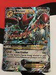 Mega M Scizor EX 77/122 XY Breakpoint Ultra Rare Full Art Holo HEAVY PLAYED