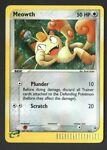 Meowth 013 HOLO Black Star Promo Pokémon Card Vintage 2003