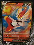 Pokémon TCG Cinderace V Shining Fates 018/072 Holo Ultra Rare