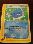 Pokemon Card Qwilfish Expedition 127/165 PLAYED/EXCELLENT NM - Slight Whiteing