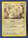 Aggron 1/123 Holo Rare - See Pics! Pokémon Mysterious Treasures