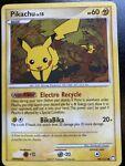 Pikachu 94/123 - Mysterious Treasures Common Pokemon Card LP
