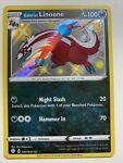 Pokemon Holo NM Shiny Galarian Linoone SV079/SV122 Shining Fates