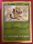 Pokemon Card Grookey SV004/SV122 Shining Fates HOLO RARE