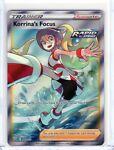 Korrina's Focus Full Art Ultra Rare Pokemon Battle Styles TCG 160/163