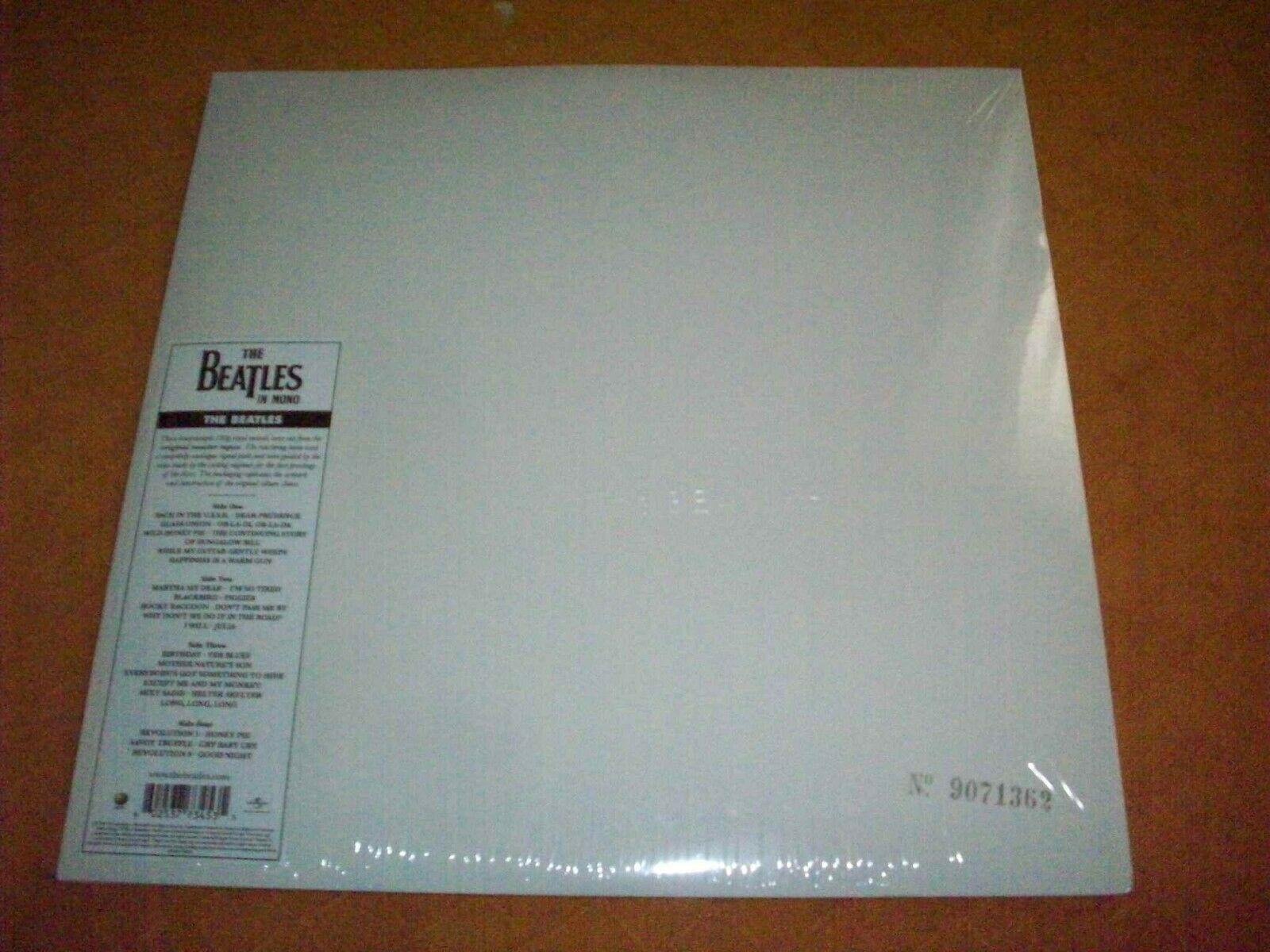 The Beatles, White Album,2014 Apple/EMI. Mono Press. New, Sealed Cond.