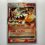 Heatran Lv X 97/100 - Stormfront - Holo Rare Pokémon Pokemon Card
