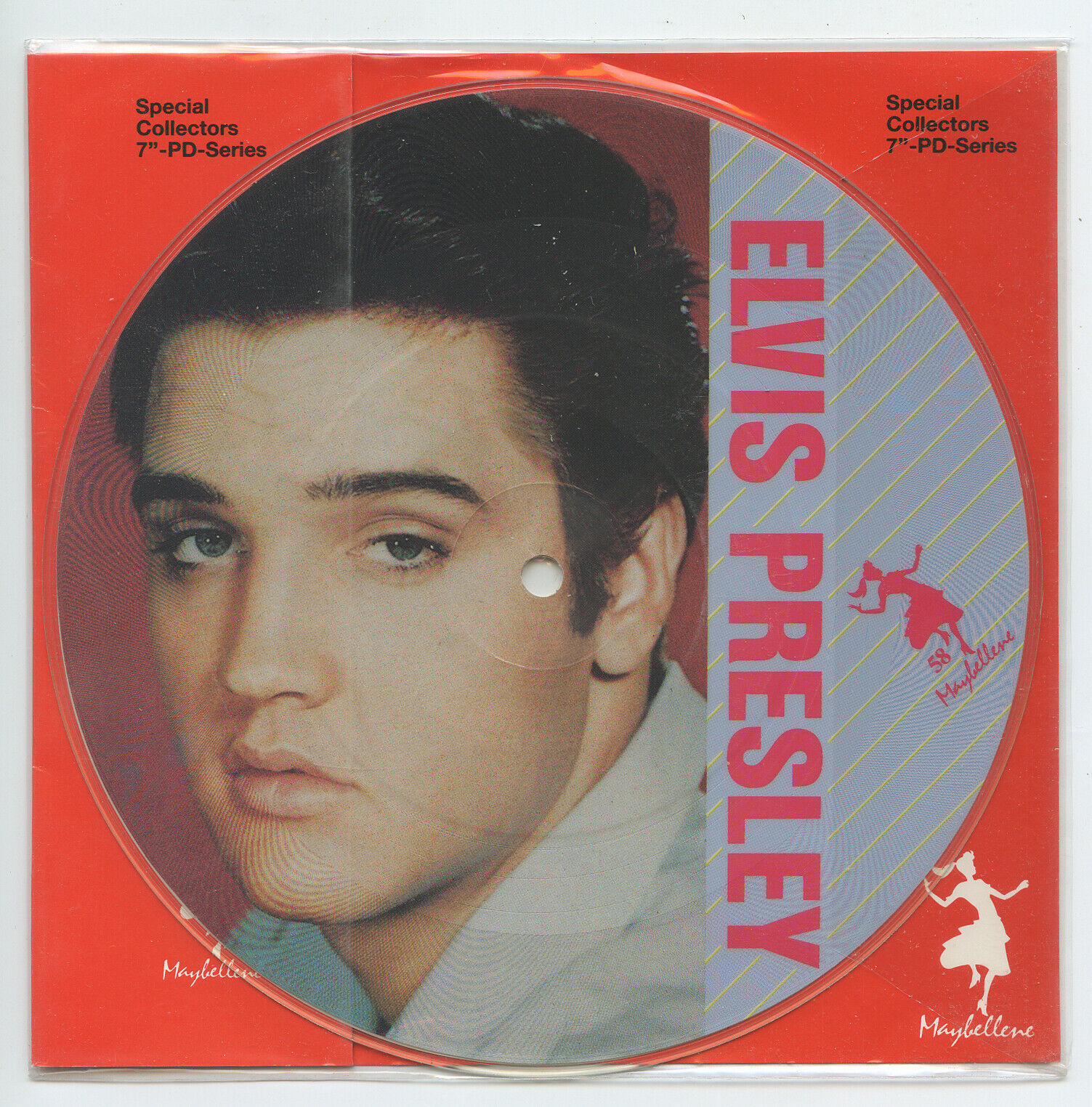 Rare Rock 'n Roll Picture Disc 45 - Elvis Presley - Are You Lonesome Tonight